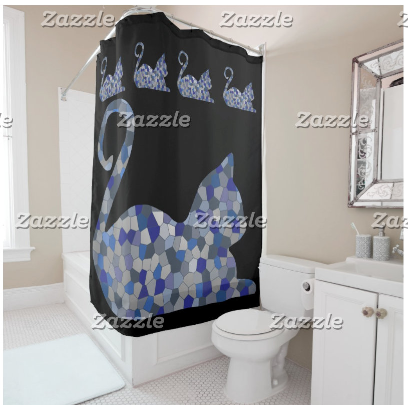 CrystalKatz Shower Curtains