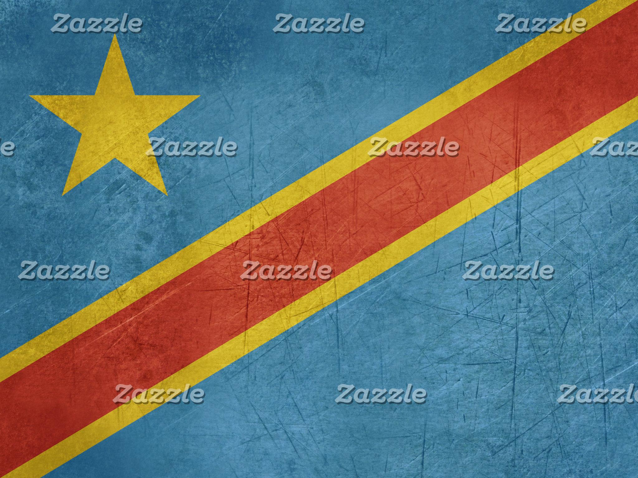 Democratic Republic of Congo Flag