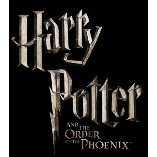 Harry Potter Order of the Phoenix Stacked Logo