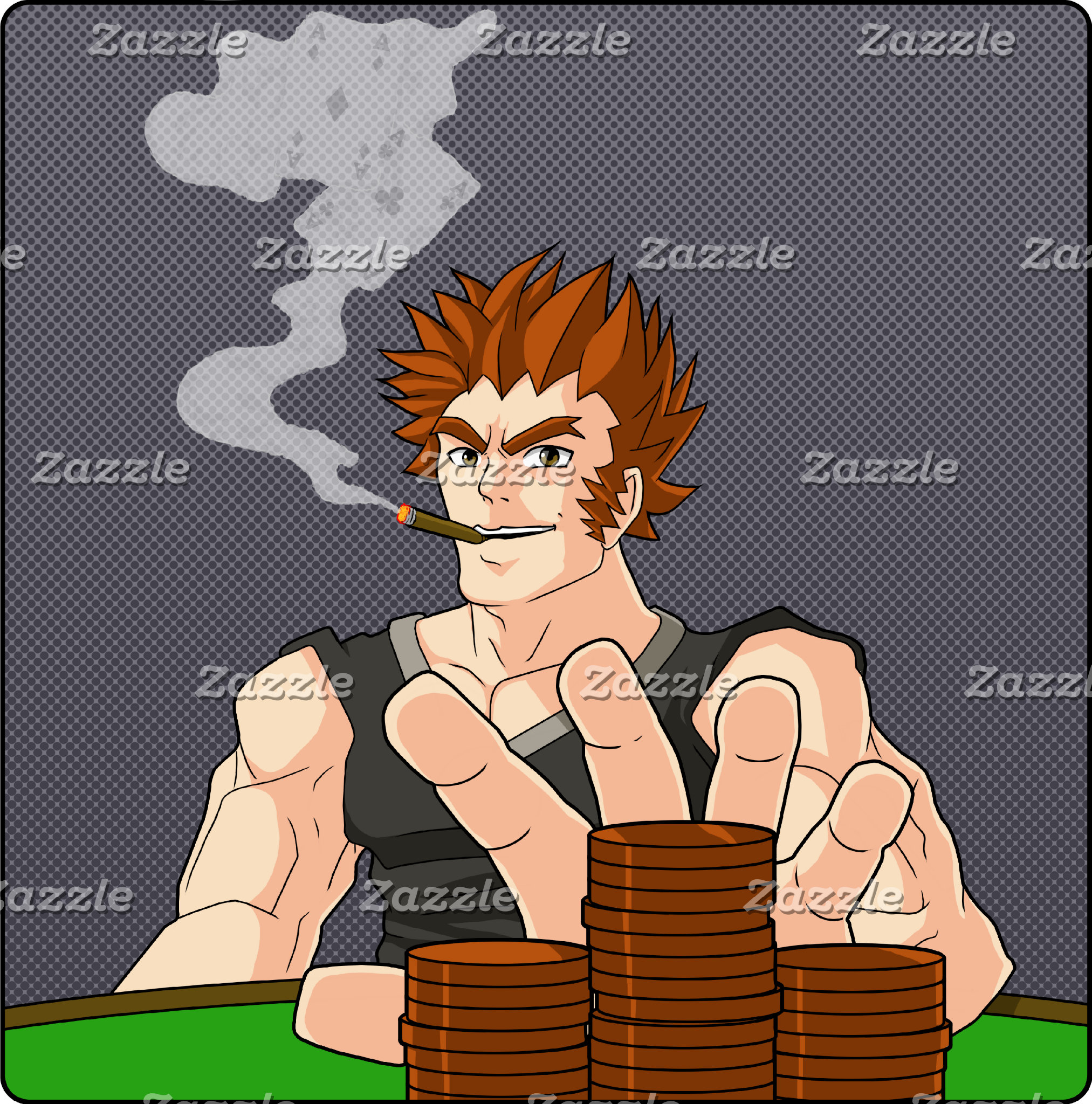 Poker Cartoons
