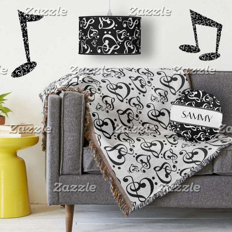 Music Notes Decor