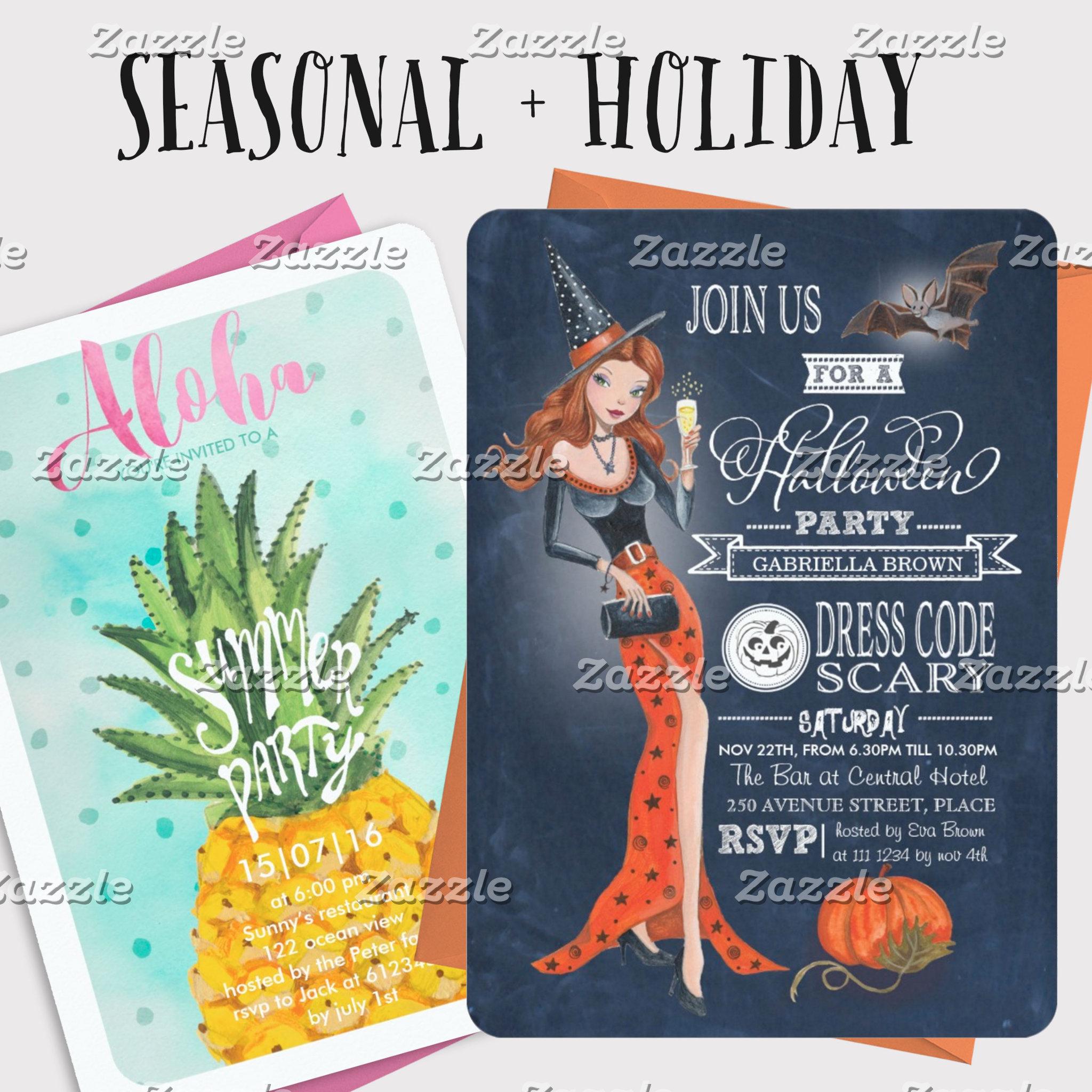 Seasonal & Holiday