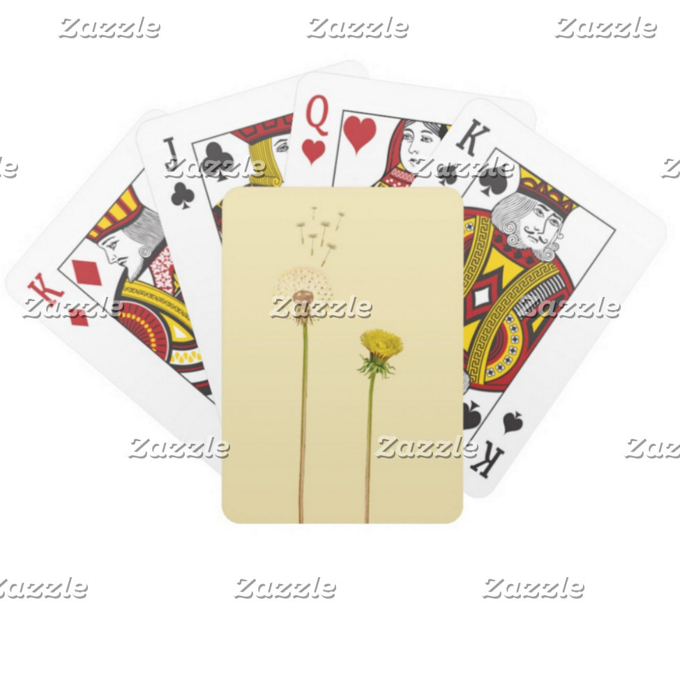 Playing cards, puzzles and games