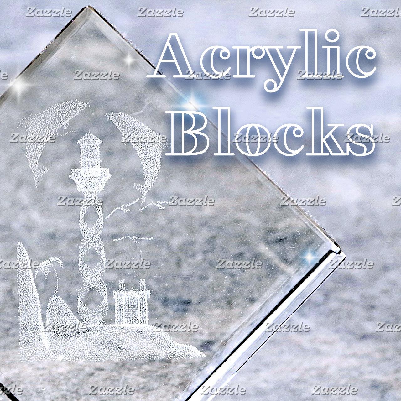 Art~Acrylic Blocks