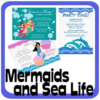 Mermaids and Sea Life
