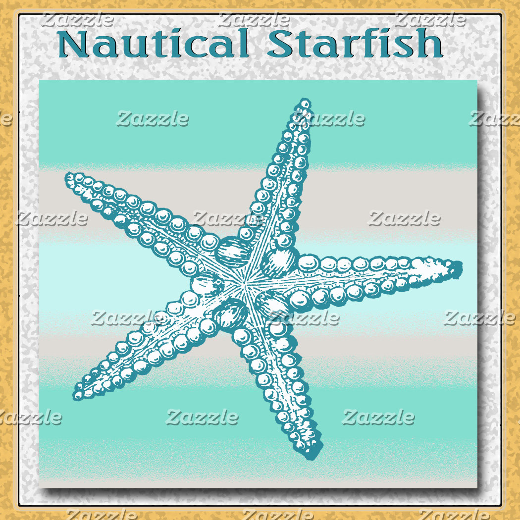 Sea Life Starfish Nautical