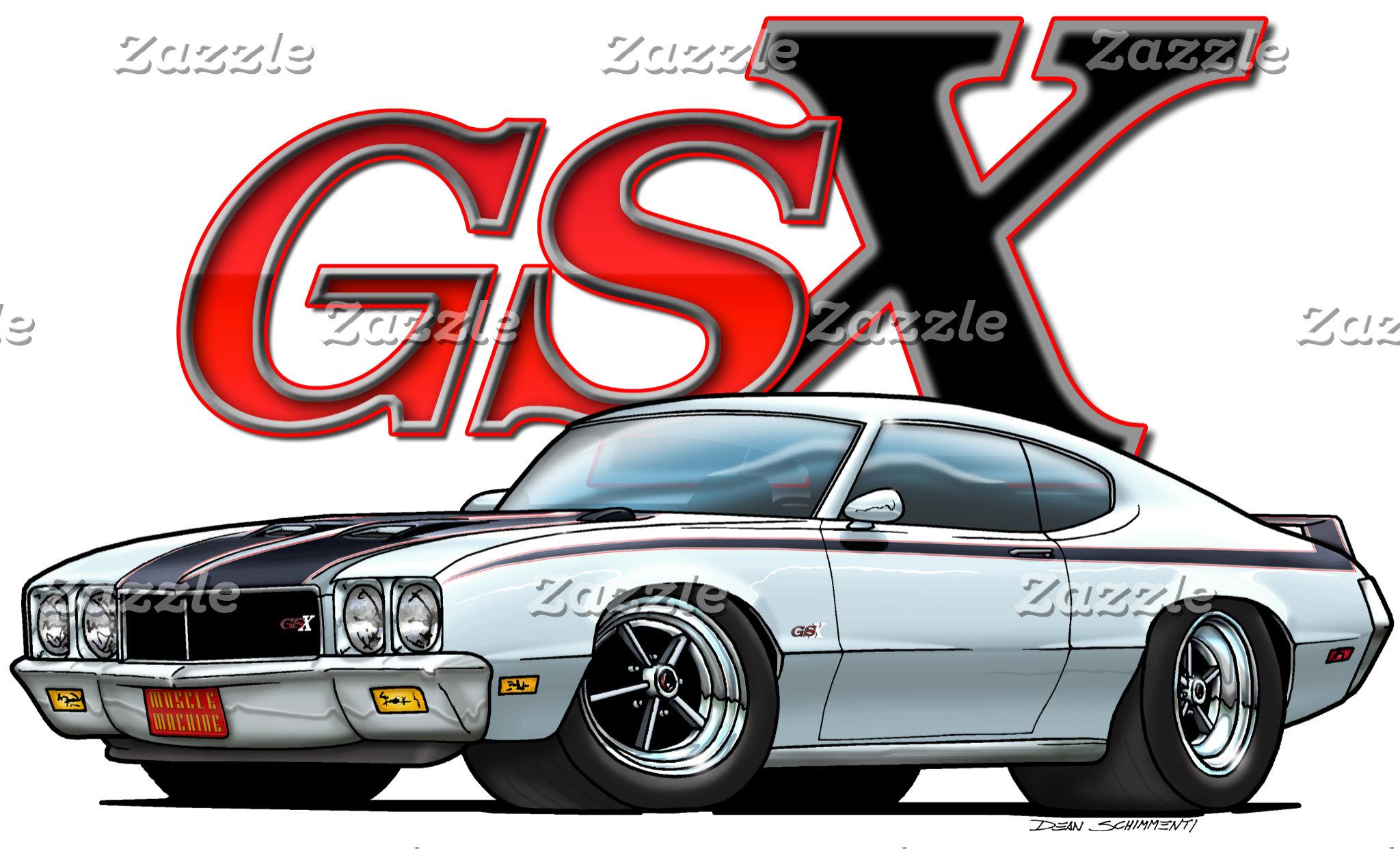 Buick Skylark, GS, and GSX