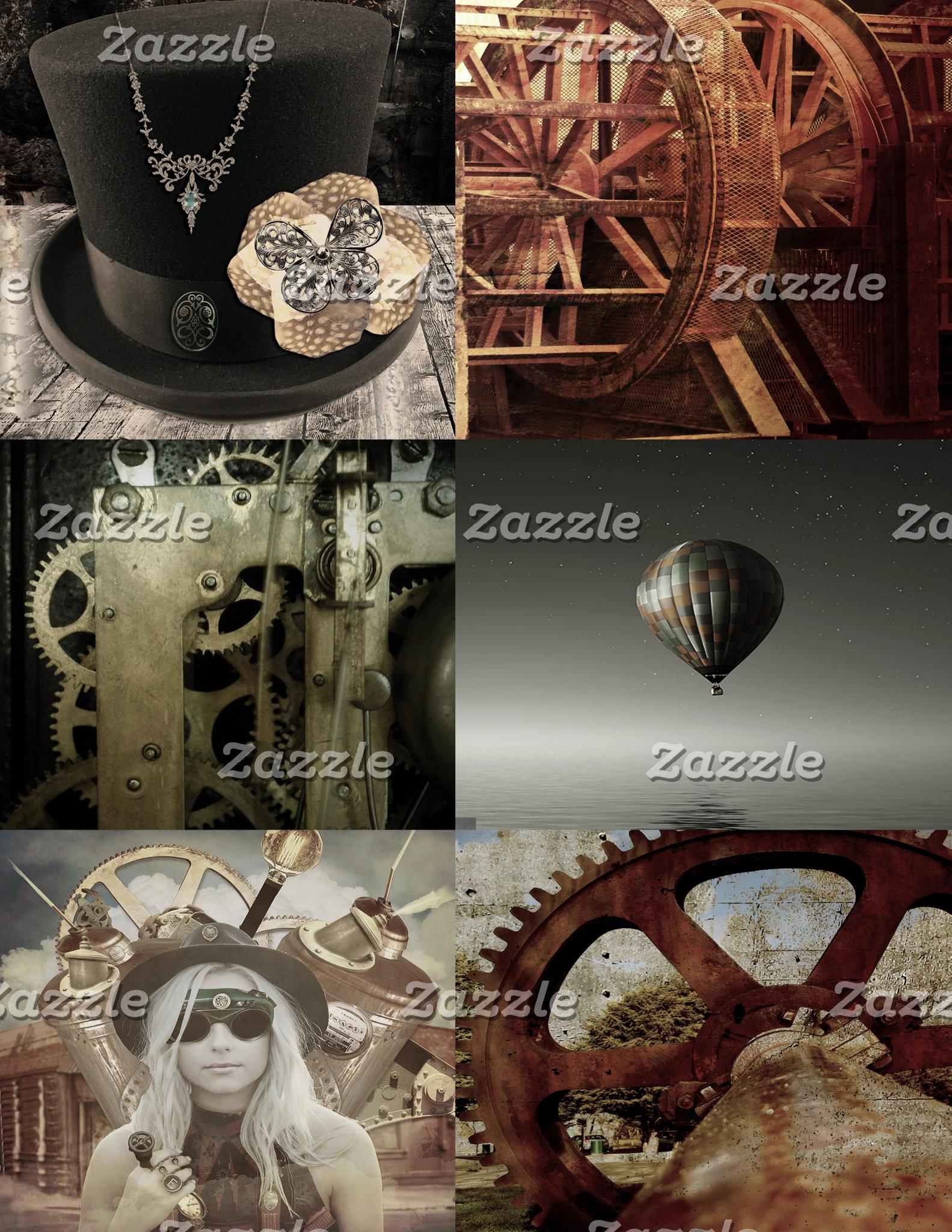 Steampunk Collage