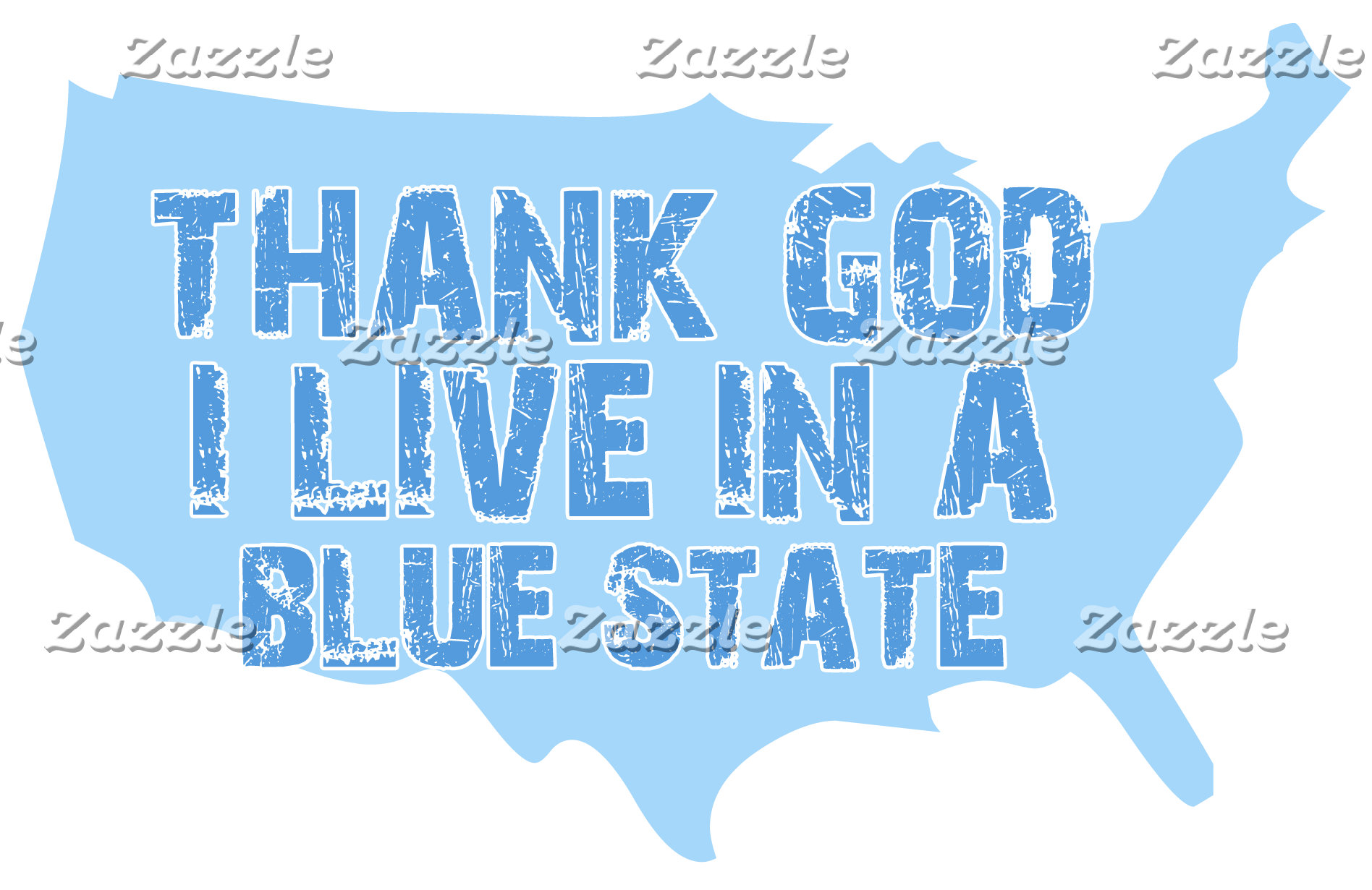 Thank God I live in a Blue State