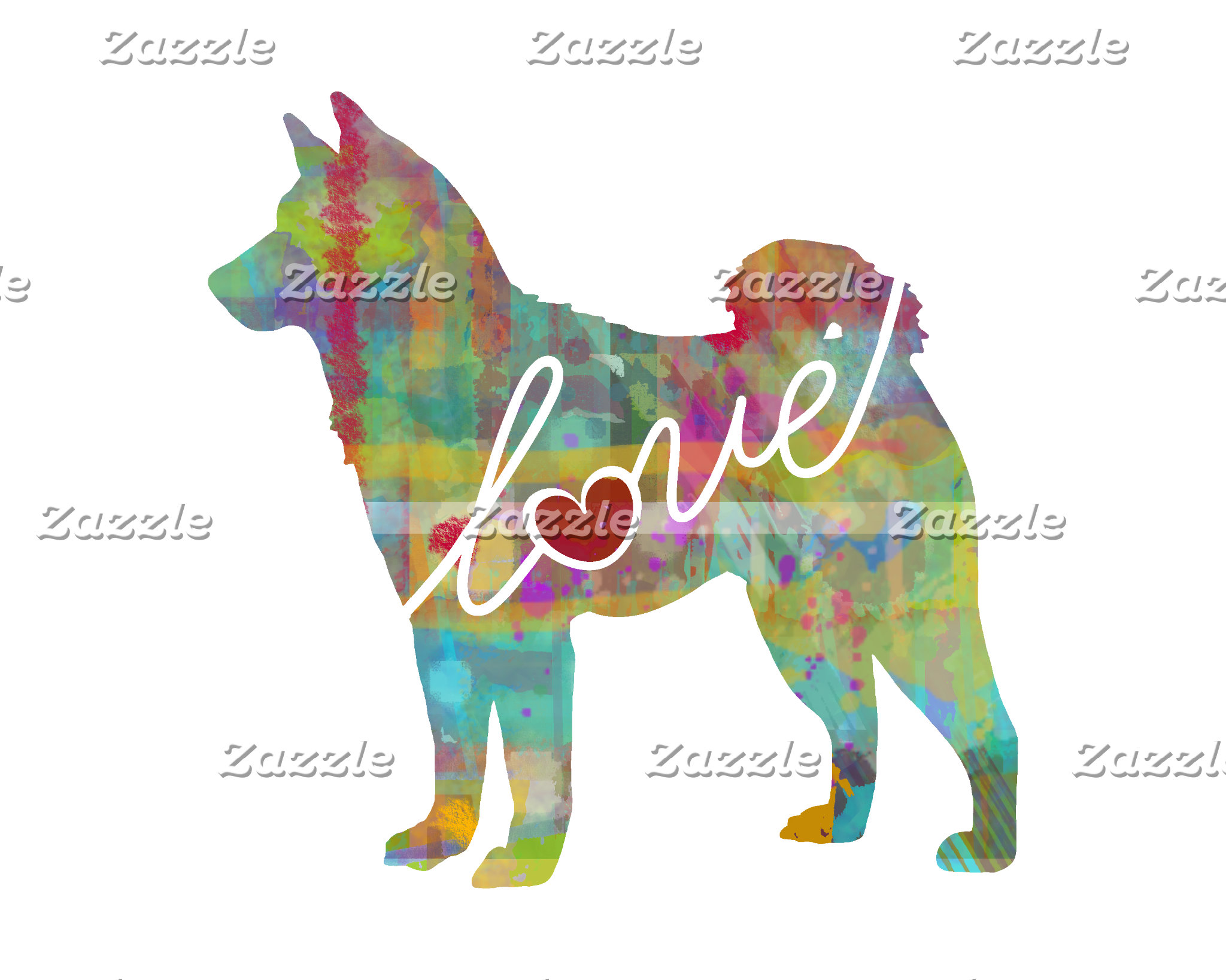 Watercolor-Style Dog Art & Gifts