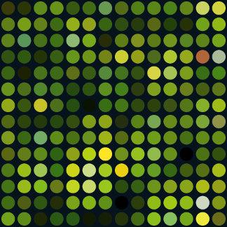 Geometric Patterns | Green Circles