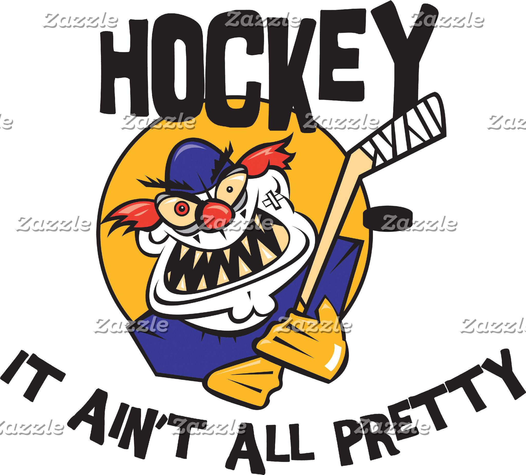 Funny Hockey It Ain't All Pretty T-Shirt