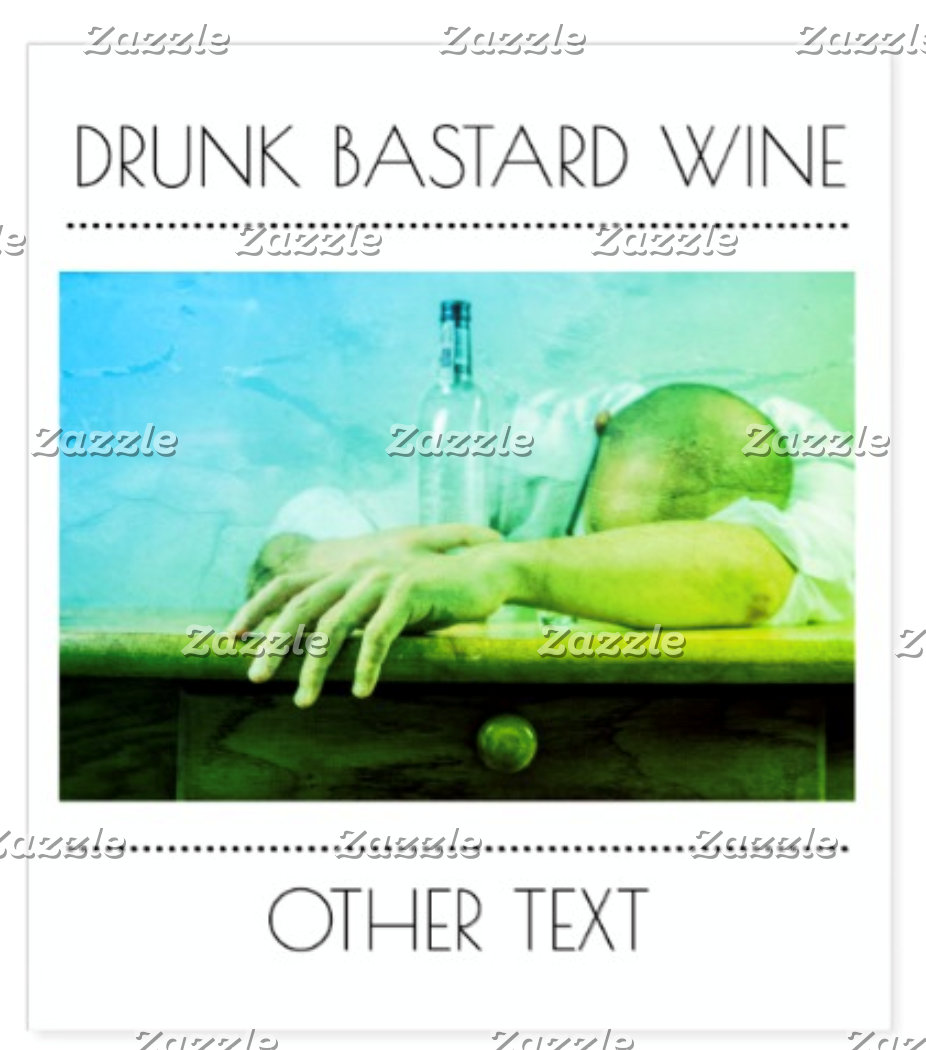 FOOD WINE  AND BEER LABELS