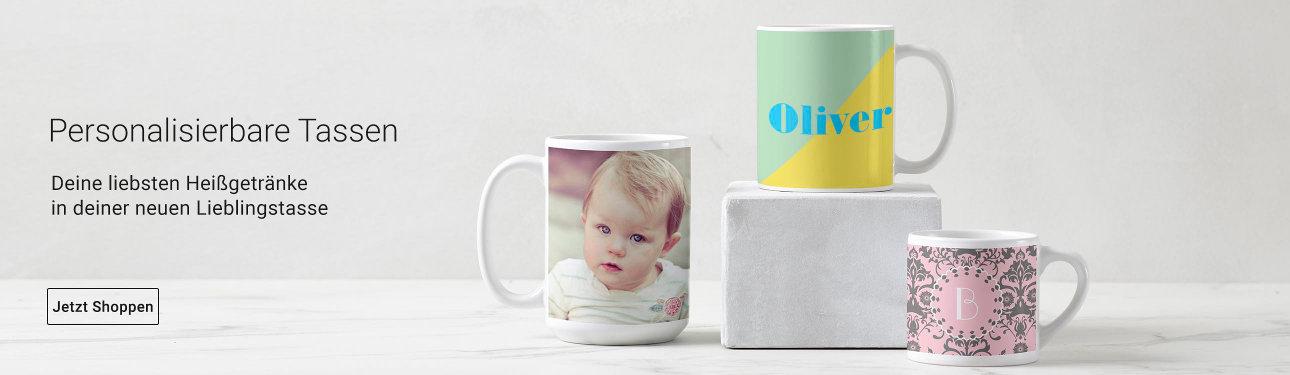 Personalisierte Tassen von Zazzle