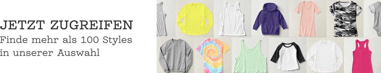 Individuelle Kleidung für alle