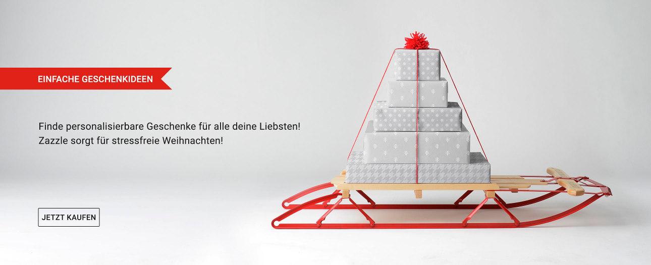 Weihnachtsgeschenke auf Zazzle Deutschland