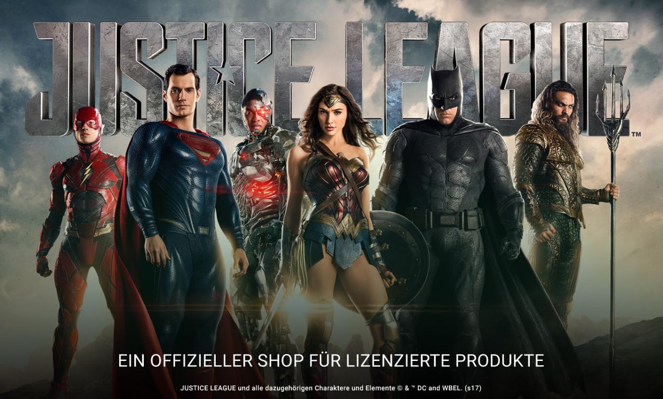 Justice League Merchandise von Zazzle