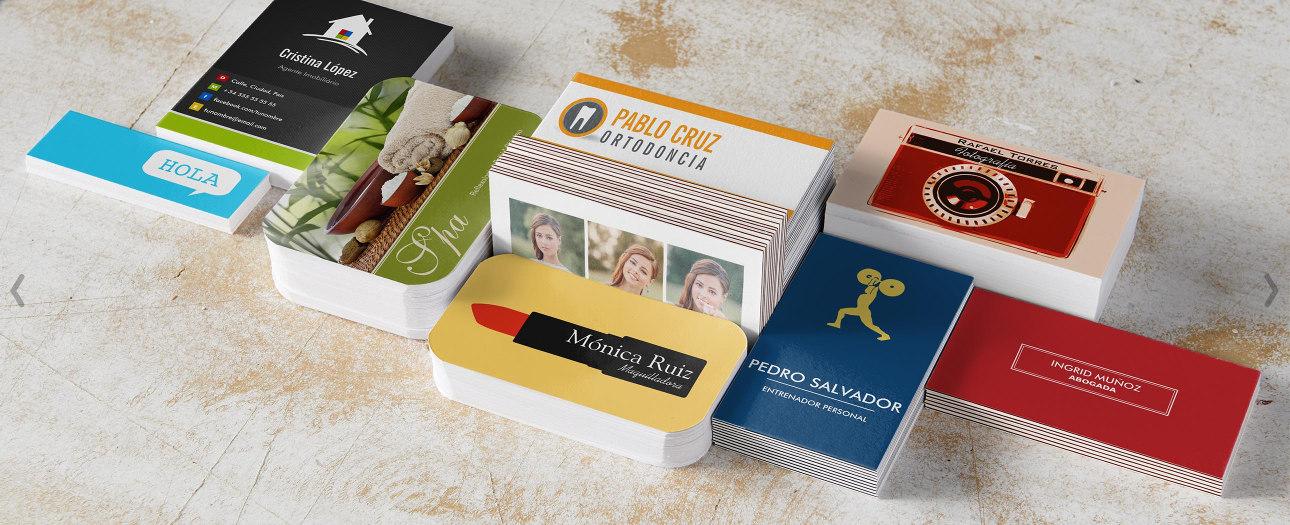 Mache einen hervorragenden 1. Eindruck mit unseren hochwertigen Visitenkarten!