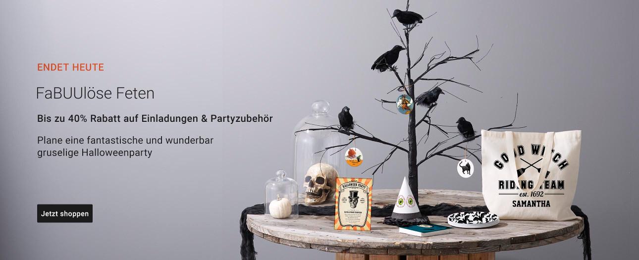 40% Rabatt auf Partyartikel und Einladungen | Nutze den Code: PARTYFUN4U40