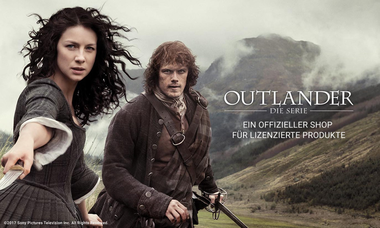 Offizielles Merchandise von Outlander