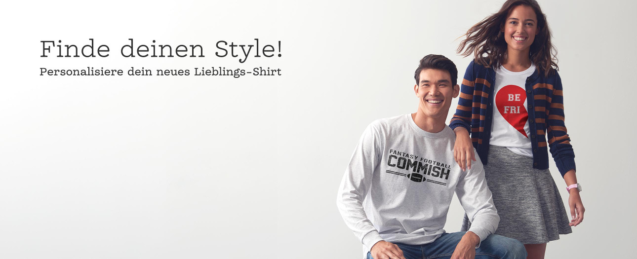 Deine personalisierten T-Shirts bei Zazzle