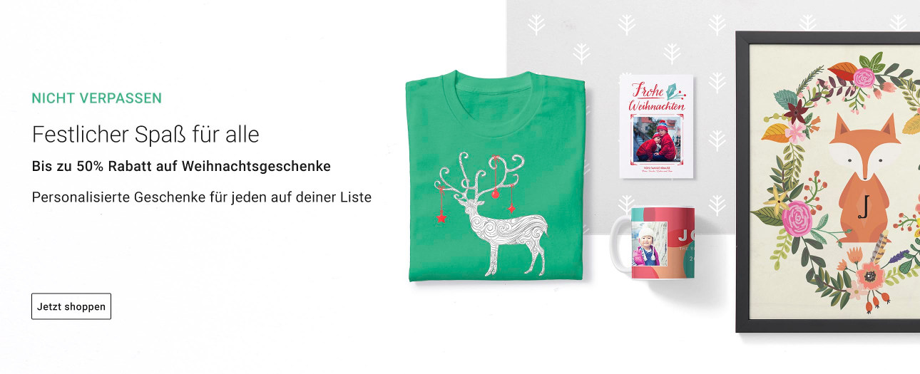 Festlicher Spaß für alle! Personalisierte Weihnachtsprodukte von Zazzle!
