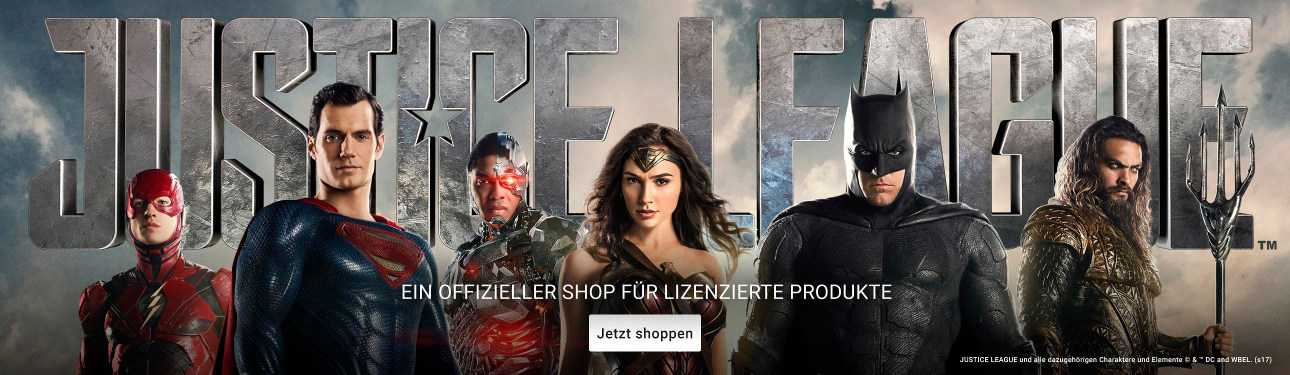 Justice League Merchandise auf Zazzle