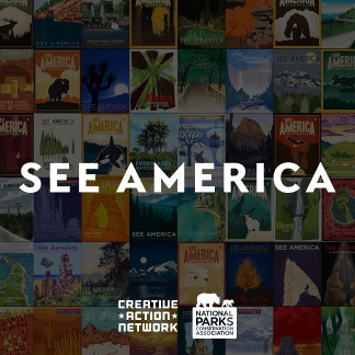 See America Illustrationen
