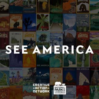 See America Illustrationen