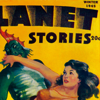 Vintage Magazine Cover Poster