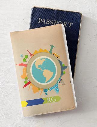 Personalisierbare Passhüllen von Zazzle