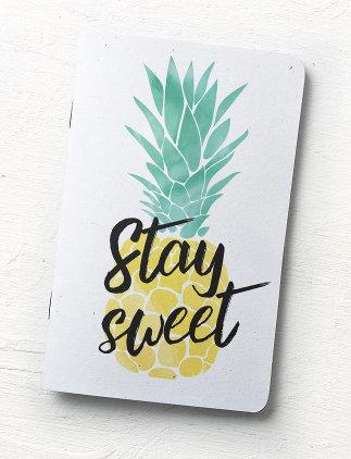Ananas Notizbuch