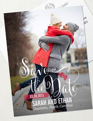Save the Date Karten mit Deinem Foto gestalten
