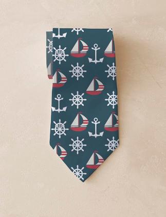 Nautische Krawatte