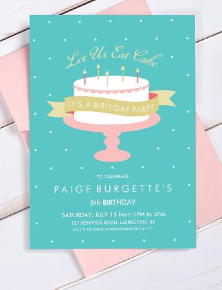 Millionen von Geburtstagseinladungen für jedes Alter und jeden Geschmack. Wähle nach Frabe, Größe und Motiv die perfekte Einladung für Deine Feier.