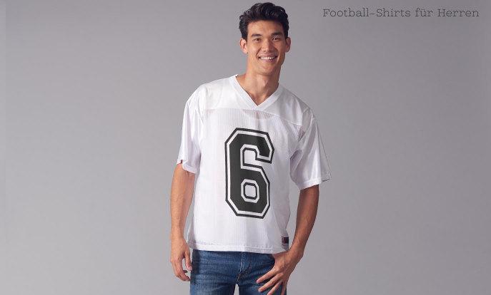 Amerikanische Football-Shirts für Herren