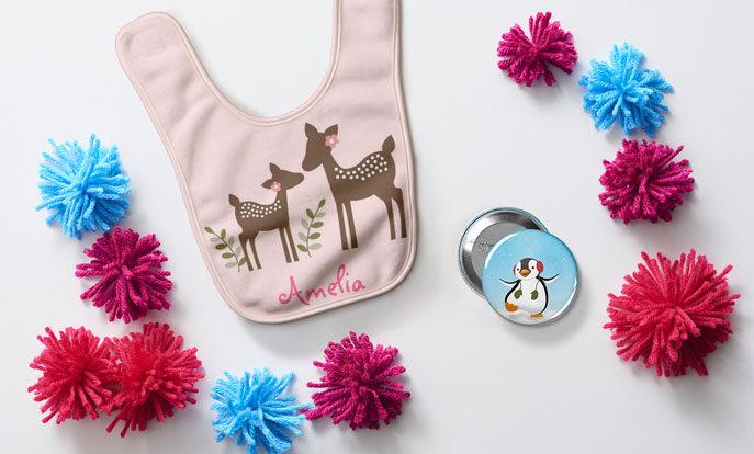 Gestalte tolle Geschenke für Kinder, Geschenke die man nicht im Laden kaufen kann!