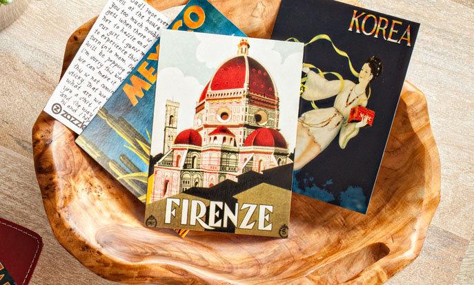 Tausende Designs für Postkarten von Zazzle