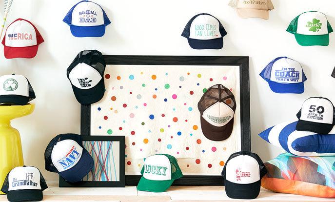 Wirf einen Blick auf unsere hübsche Auswahl an Caps