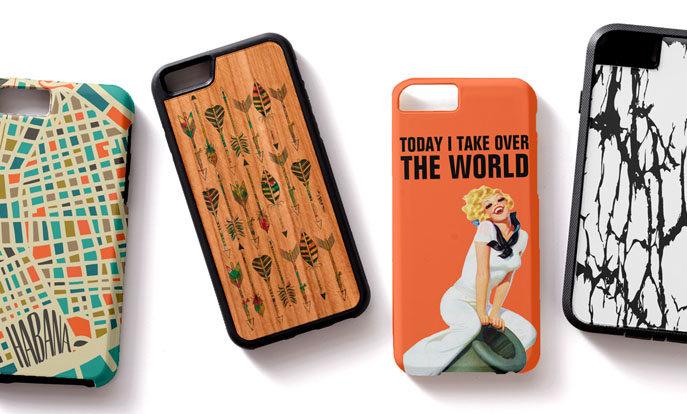 Gestalte Deine eigene iPhone 6 Hülle und personalisiere das Cover Deiner Wahl mit Deinem Lieblingsbild  und -text.
