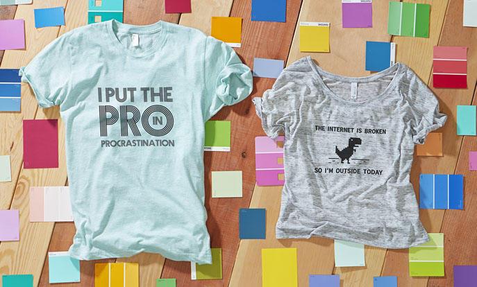 Nach witzigen T-Shirts suchen und kaufen