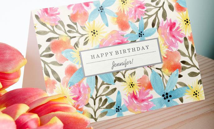 Tolle Karten zum Geburtstag
