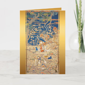 chinesischer tierkreis gru mitteilungskarten. Black Bedroom Furniture Sets. Home Design Ideas