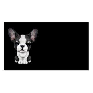 Visitekarten mit Französische Bulldogge