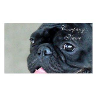 Hund der französischen Bulldogge Visitenkarten