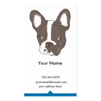 Bulldogge Visitenkarten