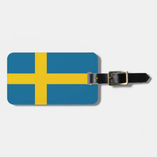 Svenska flaggan gepäckanhänger