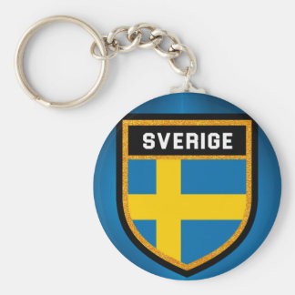 Sverige Flagge Schlüsselanhänger