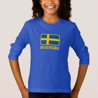 Sverige Flagge T-Shirt