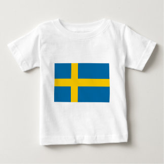 Sveriges Flagga - Flagge von Schweden - Baby T-shirt